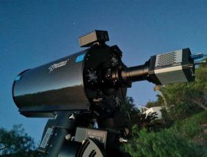 Fallstudie: Experiment mit einer ANDOR Marana Kamera an einem High End Amateurteleskop auf La Palma