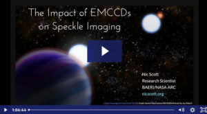 Webinar Andor: The Impact of EMCCDs of Spechle Imaging