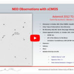 Webinar – sCMOS observations at the SwissOGS (Space Debris)