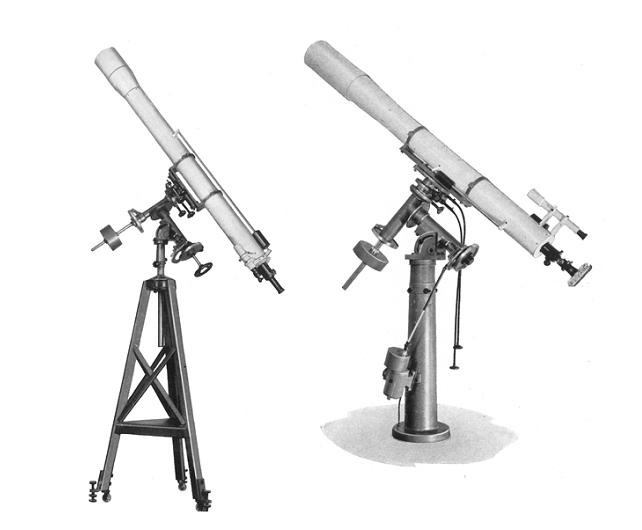 Abb. 01: 125- und 160 mm Butenschön Refraktoren