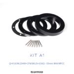 QHY Adapter-Kit A1 für QHY294M / 163M CFW3M-S und OAG