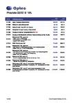 Preisliste OPTEC