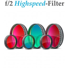 f/2 Highspeed-Filtersatz (H-alpha / OIII / SII)