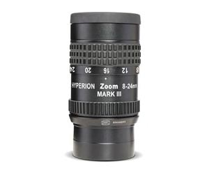 The zoom eyepiece with 1.25 - or both ports are 2-inch connector - included