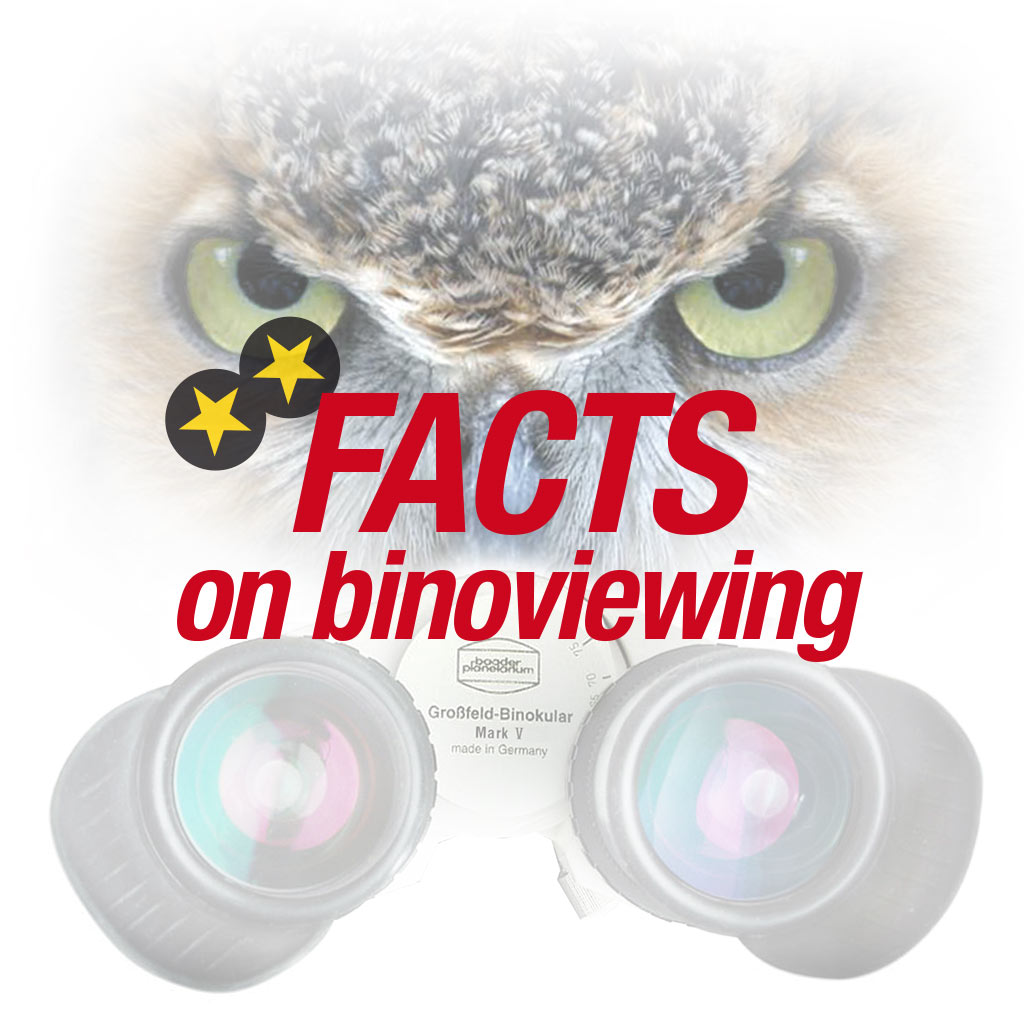 Facts on Binoviewing