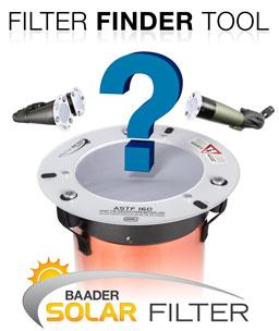 Baader Solar Filter Finder Tool