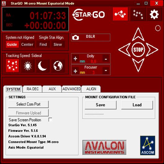 StarGo Software