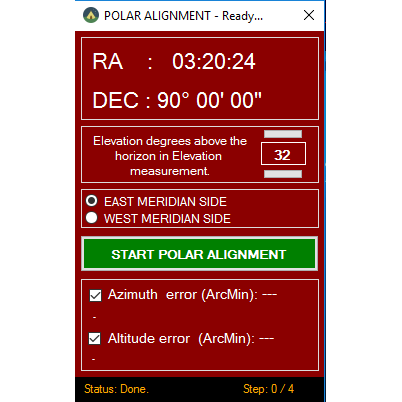 Polar Alignment