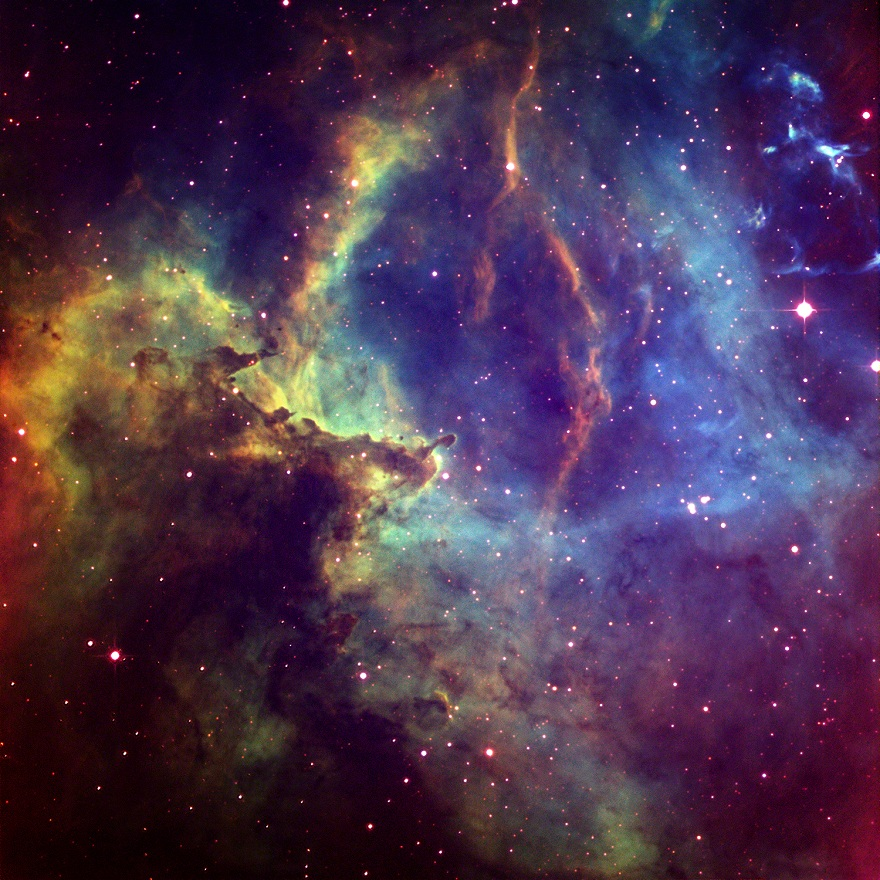 Caldwell 49, Rosette Nebula
