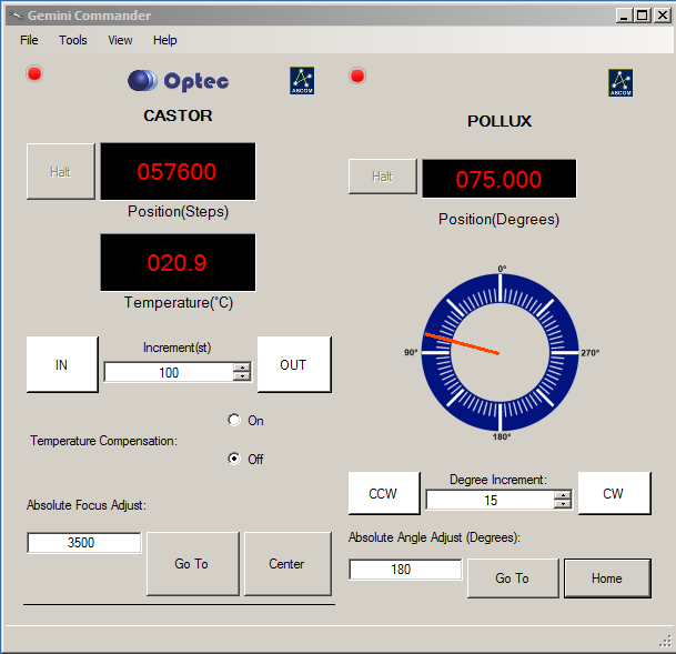 Gemini Commander Software