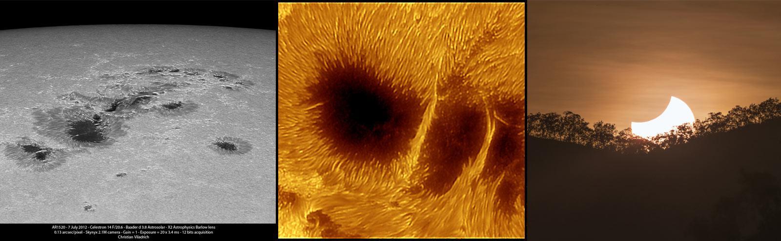 AstroSolar Anwendungsbilder