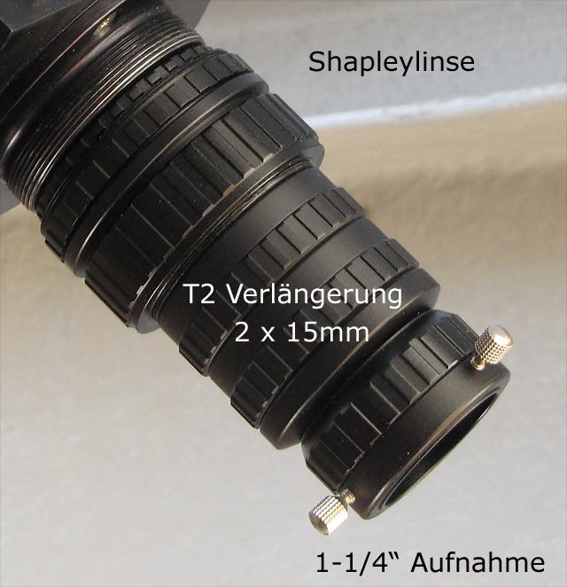 Shapleylinse T-2 Verlängerung