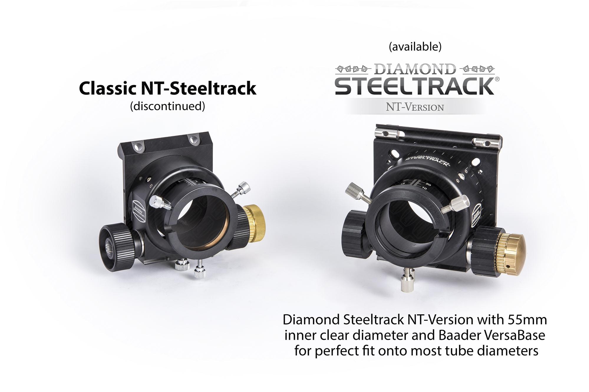 Comparison of Classic and Diamond Steeltrack